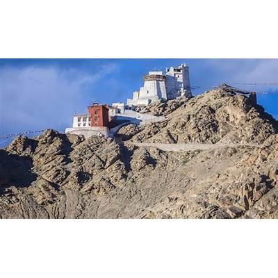 Namgyal Tsemo monastery in LehNamgyal