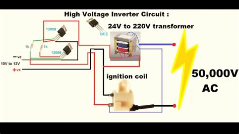 Make Inverter High Voltage Youtube