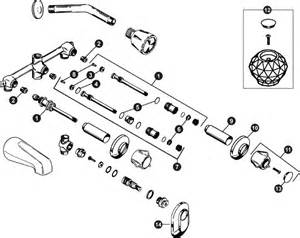 sayco briggs tub shower valve schematic az partsmaster