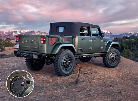 jeep chief truck jeep crew chief 715 the concept jeep should build 95 octane