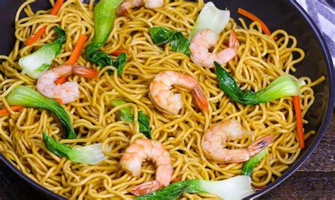 minute  pot shrimp chow mein recipe tipbuzz