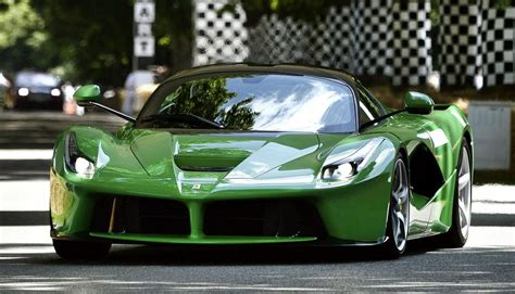 jay kays green laferrari cars cars