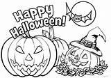 Halloween Coloring Printable Pages Jack Lantern Pumpkins Tsgos Printables Elsa Frozen sketch template