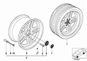 36112227931 - Alloy Rim Forged  8jx18 Et 20  Light  Wheels