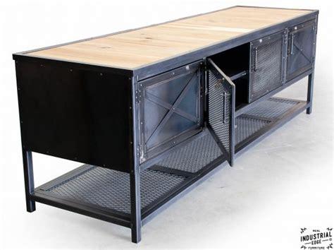custom industrial kitchen island reclaimed wood steel