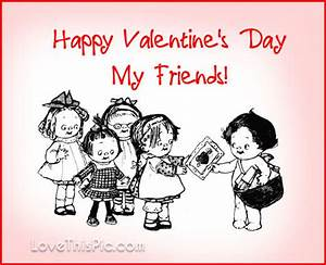 Happy Valentine's Day Friends Pictures, Photos, and Images ...