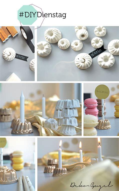 mini kuchen namensschilder mit mini gugel hochzeitsblog marrymag
