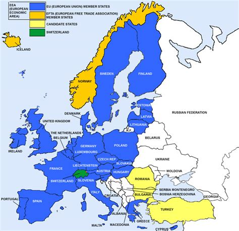map  european countries  require  ce mark ce marking