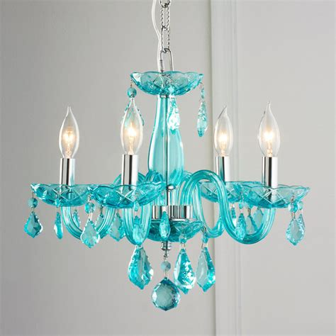 color mini chandelier shades of light