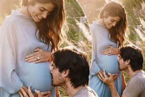 ian somerhalder baby pictures ian somerhalder and nikki reed announce they re expecting