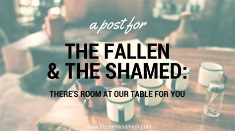 A blogpost for those dealing with guilt and shame ...