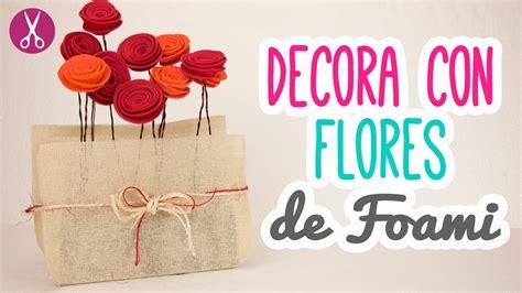 manualidades para decorar tu cuarto flores de foami 161 ideas para decorar tu cuarto