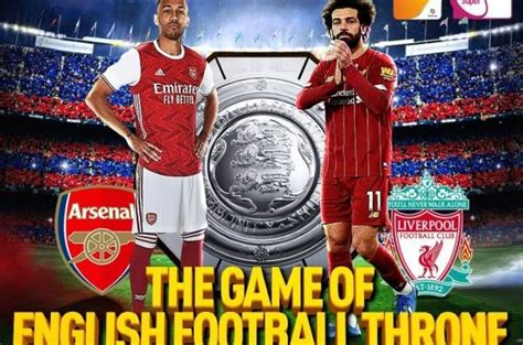 Liverpool vs Arsenal's FA Community Shield airs live on ...