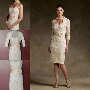 Elegant mother of the bride with jacket dresses pant suit for Formal wedding dresses for mother of the bride