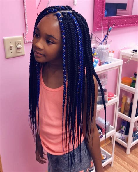 box braids  kids  color   box braids