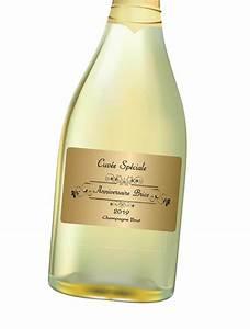 Etiquette Champagne Mariage : assez tiquettes personnalis es bouteille ta64 humatraffin ~ Teatrodelosmanantiales.com Idées de Décoration