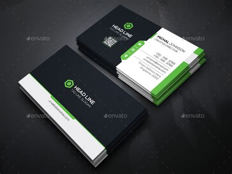 head  business cards  generousart graphicriver