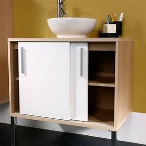 Petit Meuble Bas : mobilier salle de bains des exemples et quelques conseils ~ Teatrodelosmanantiales.com Idées de Décoration