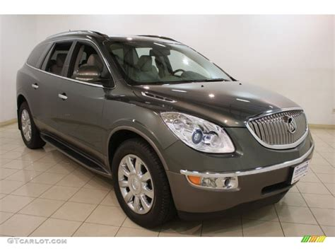 2011 Buick Enclave Colors by 2011 Silver Green Metallic Buick Enclave Cxl 82098744