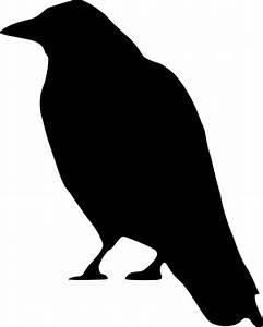 Black Raven Clip Art at Clker.com - vector clip art online ...