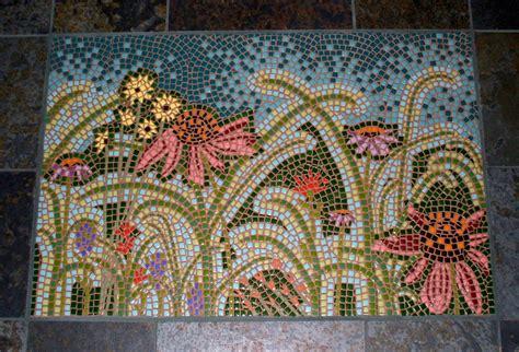 Tile Mosaic  Little Flock Studio
