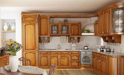best price kitchen cabinets china best price customized natuaral solid wooden kitchen 4584