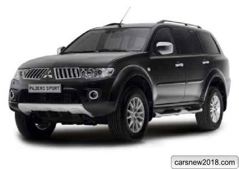 20182019 Mitsubishi Pajero Sport  Cars News, Reviews