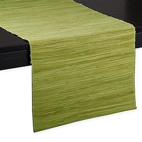 72 inch table runner buy water hyacinth 72 inch table runner in green from bed