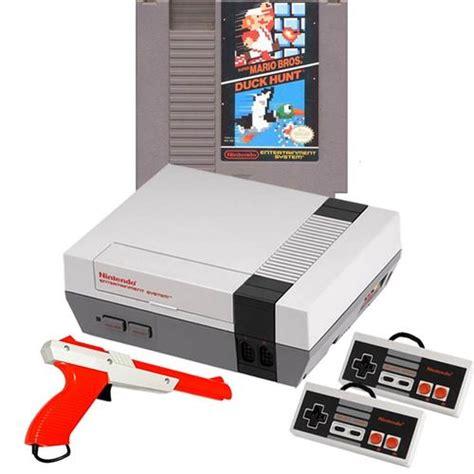 Original Nintendo Console by Nes System W Mario Zapper Bundle Original Nintendo Console