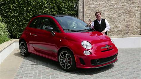 2014 Fiat 500 Abarth Cabrio Youtube