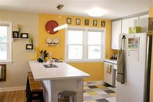 happy paint colors for a cheerful home With kitchen colors with white cabinets with happy birthday wall art