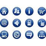 Web Icons Clip Royalty Clipart Vector Clker