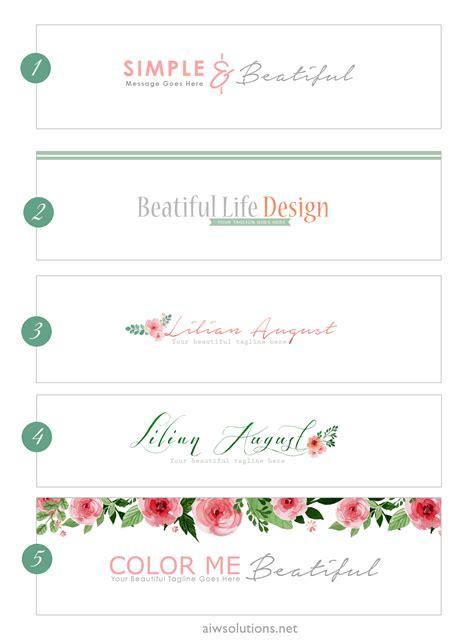 Modern Minimalist Design Style, Logo Design, Logo Branding, Etsy Shop Banner, Store Header