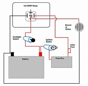 Motorcycle Headlight With Single Spdt Relay Wiring Diagram