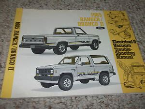 Ford Bronco Truck Electrical Wiring Diagrams