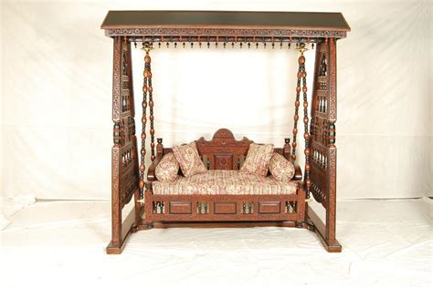 maharaja style indian swing jhoola  living room