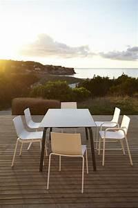 chaises design pour salon de jardin haut de gamme With salon de jardin moderne