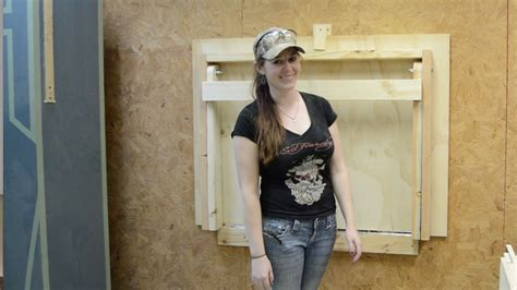 diy fold  workbench youtube
