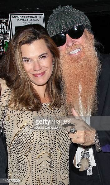 recording artist billy gibbons  wife gilligan