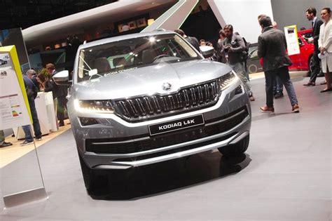 Skoda Kodiaq Laurin & Klement Front At 2018 Geneva Motor Show