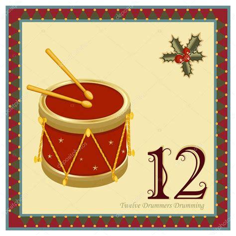 The 12 Days Of Christmas — Stock Vector © Eireann #4357325