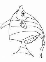 Fish Coloring Pages Angel Angelfish Betta Printable Template Drawing Drawings Getcolorings Chiefs Clipart Getdrawings Heart Unicorn Recommended Sketch Colorings sketch template