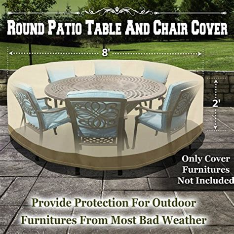 benefitusa patio table chair cover garden outdoor
