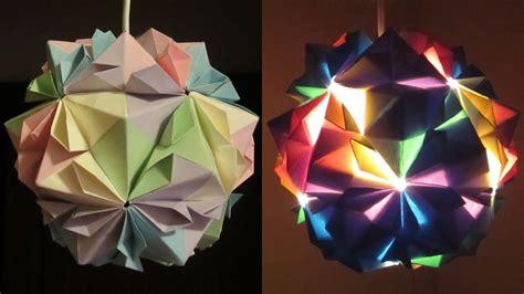 diy lamp flower ball learn     paper