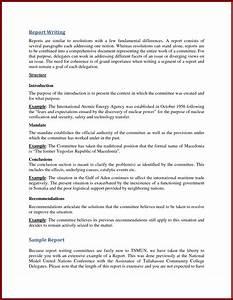 Report writing school
