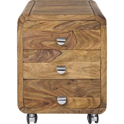 caisson de bureau contemporain bois authentico kare