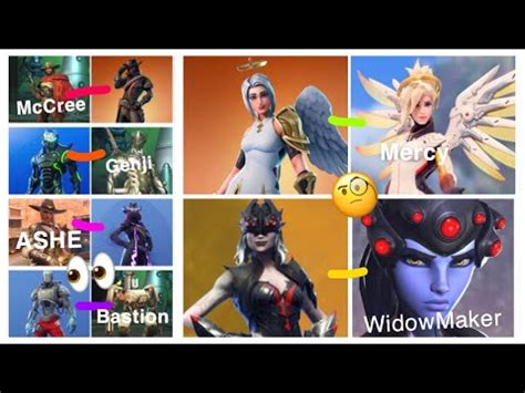 fortnite copying overwatch skins youtube