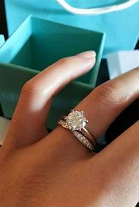 30 tiffany engagement rings that will totally inspire you for Wedding rings to go with solitaire engagement ring