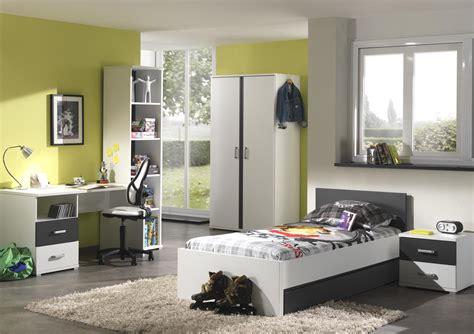 chambre et table d h es tiroir lit contemporain blanc et gris joss tiroir lit