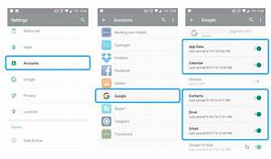 3 ways to transfer data from and to an android device With google docs sync android